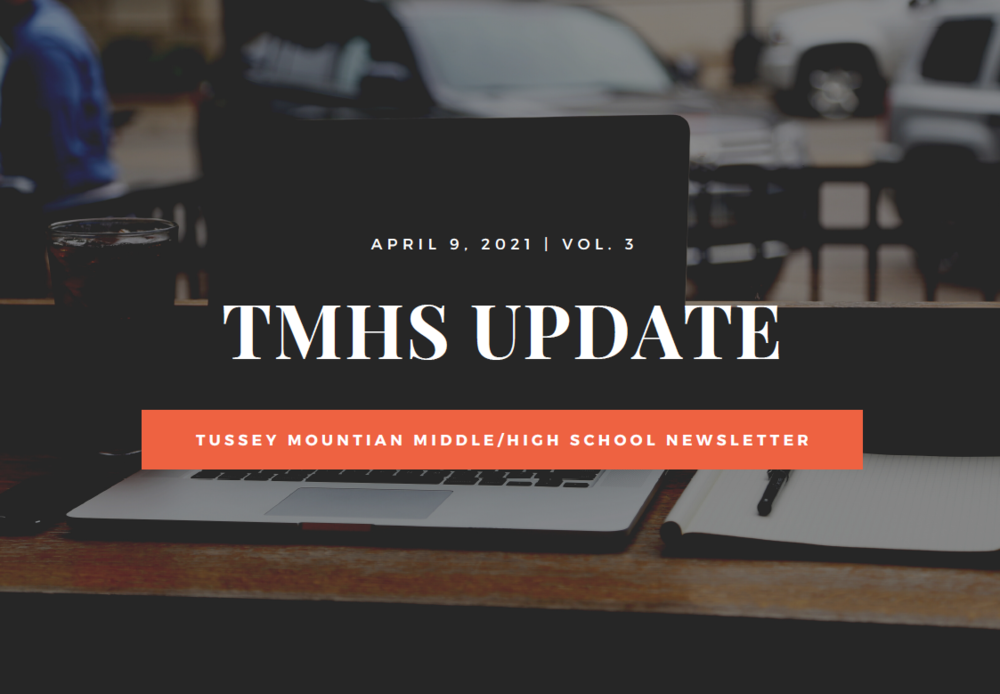 Newsletter - April 9, 2021