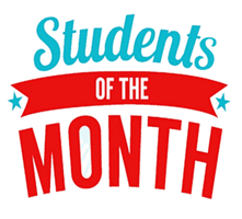 April's Student of the Month